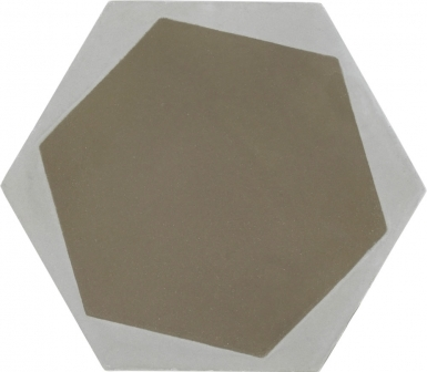 Hexagon 3 - Barcelona Cement Floor Tile