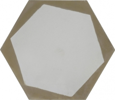 Hexagon 4 - Barcelona Cement Floor Tile
