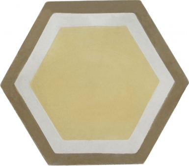 Hexagon 17 - Barcelona Cement Floor Tile