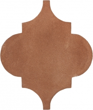 "6.5"" x 6.5"" Arabesque Picket - Tierra High Fired Floor Tile"