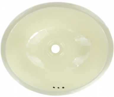 Mexican White Talavera Ceramic Oval Drop In Bathroom Sink
