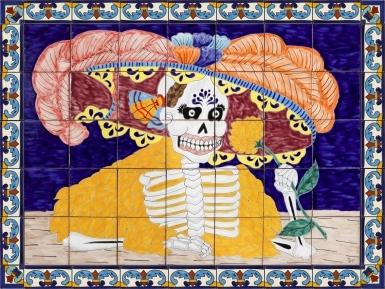 La Bonita Ceramic Tile Mural