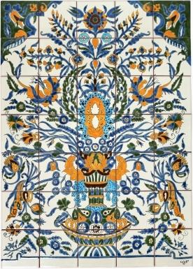 Adana Ceramic Tile Mural