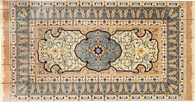 Persian Style Rug 3 - Santa Barbara Tile Mural