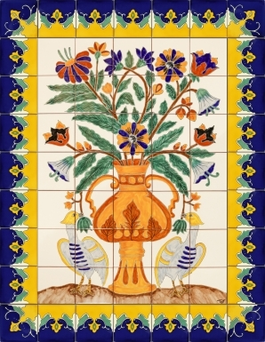 Ave Fenix Ceramic Tile Mural