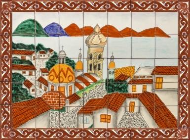 Puerto Vallarta Ceramic Tile Mural