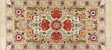 Persian Style Rug 2 Santa Barbara Tile Mural