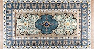 Persian Style Rug 3 Santa Barbara Tile Mural