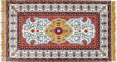 Persian Style Rug 4 Santa Barbara Tile Mural