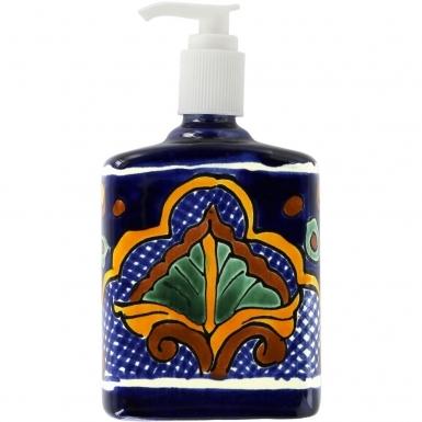 San Miguel - Mexican Talavera Soap Dispenser