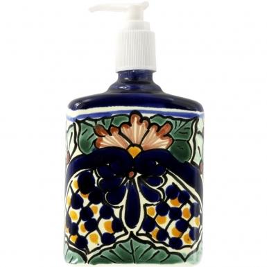 Corsica - Mexican Talavera Soap Dispenser