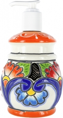 Summer - Round Soap Dispenser with Relief