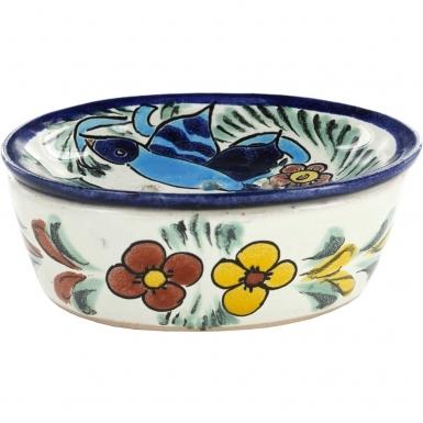 Hummingbird - Talavera Soap Dish