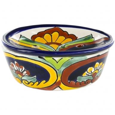 Puebla 2 - Talavera Soap Dish