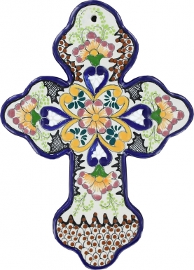 Floral N.2 - Ceramic Cross