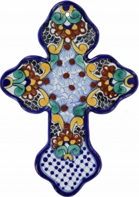 Floral N.3 - Ceramic Cross