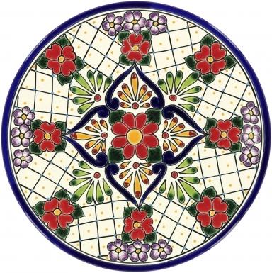 Plate 3 - Talavera Plate