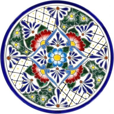 Plate 9 - Talavera Plate