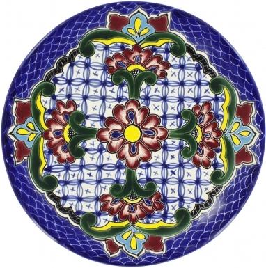 Bugambilia - Talavera Plate