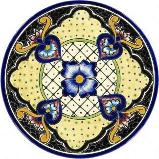 zoom View all Handpainted Ceramic Plates  sc 1 st  Tierra y Fuego & Margarita - Talavera Plate