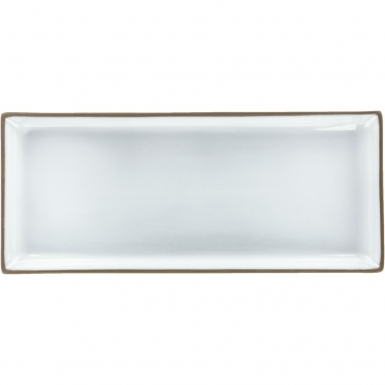 Pure White Rectangular - Ceramic Plate