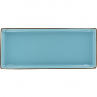 Turquoise Rectangular - Ceramic Plate