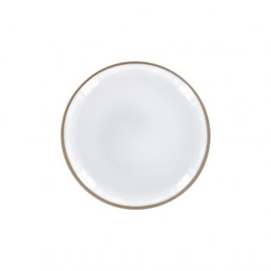 Pure White Saucer - Ceramic Plate