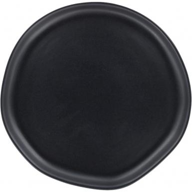 Organic Black Matte Dinner - Ceramic Plate