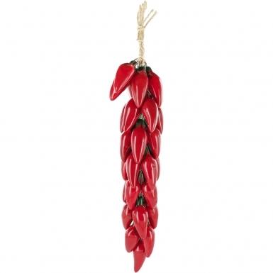 Red Jalapeno - Ceramic Ristra