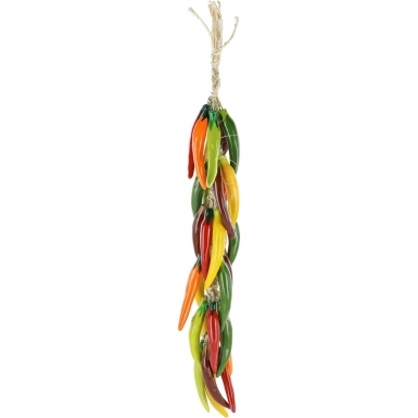 Multicolor Arbol Chili - Ceramic Ristra