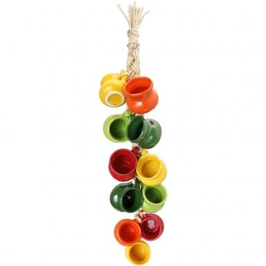 Multicolor Mugs - Ceramic Ristra