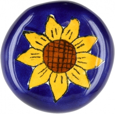 Talavera KNOB - Sunflower
