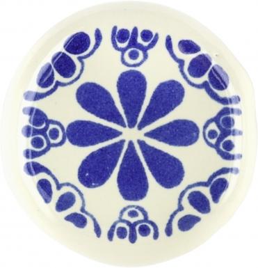 Talavera KNOB - Blue Isabel