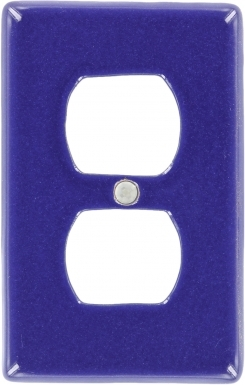 Midnight Blue Outlet - Talavera Switchplate