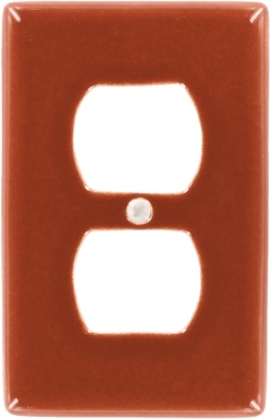Rust Outlet - Talavera Switchplate