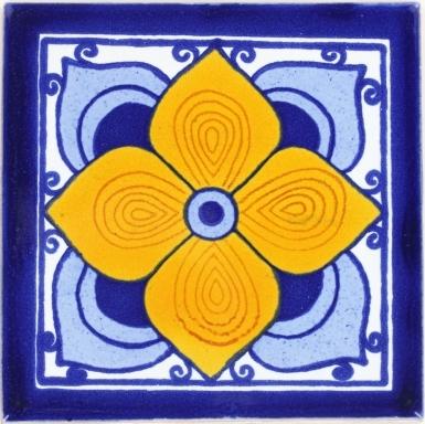 Flor Sevillana Terra Nova Mediterraneo Ceramic Tile