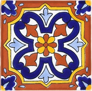 Villafranca 4 Terra Nova Mediterraneo Ceramic Tile