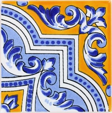 Zaragoza Terra Nova Mediterraneo Ceramic Tile