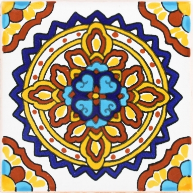 Palermo 4 Terra Nova Mediterraneo Ceramic Tile