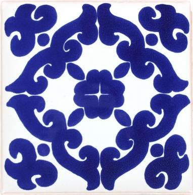 Blue Kiosco Terra Nova Mediterraneo Ceramic Tile