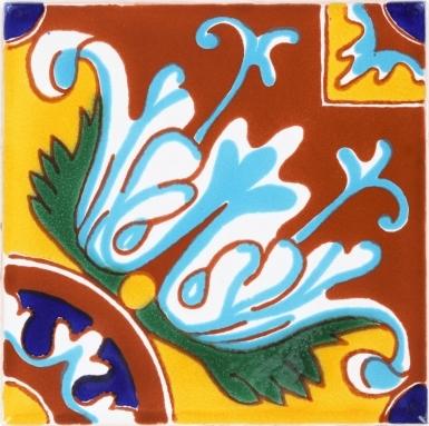 Romanesco 3 Terra Nova Mediterraneo Ceramic Tile