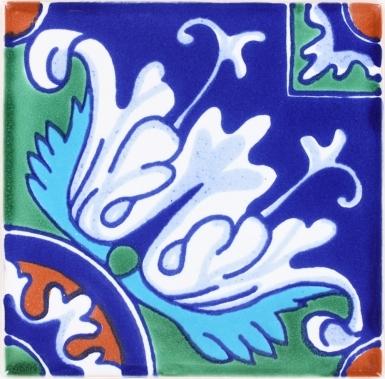 Romanesco 4 Terra Nova Mediterraneo Ceramic Tile
