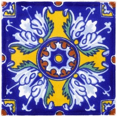 Romanesco Flower Terra Nova Mediterraneo Ceramic Tile