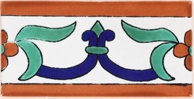 Flor de Liz Terra Nova Mediterraneo Ceramic Tile