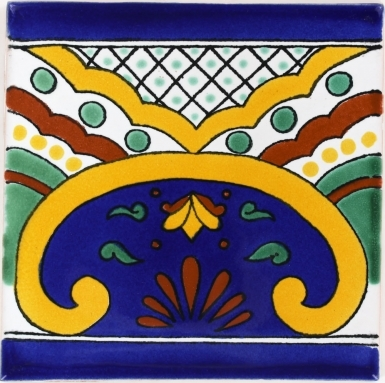 Puebla Terra Nova Mediterraneo Ceramic Tile