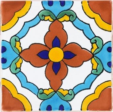 Cholula Terra Nova Mediterraneo Ceramic Tile
