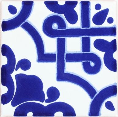 Mosaico Azul Terra Nova Mediterraneo Ceramic Tile
