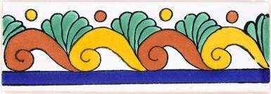 Caracol Terra Nova Mediterraneo Ceramic Tile