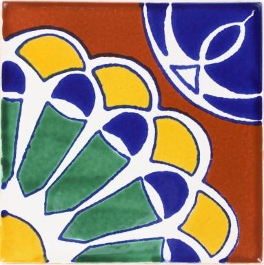 Blue Abanico Terra Nova Mediterraneo Ceramic Tile