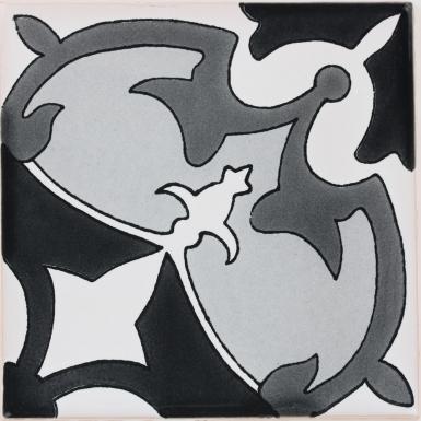 Marseille Black & White Terra Nova Mediterraneo Ceramic Tile
